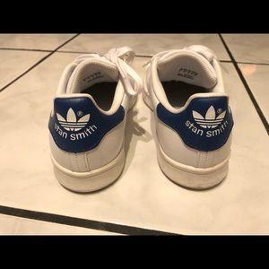 Adidas Stan Smith Blue Kids Size 4 or Women 6.5
